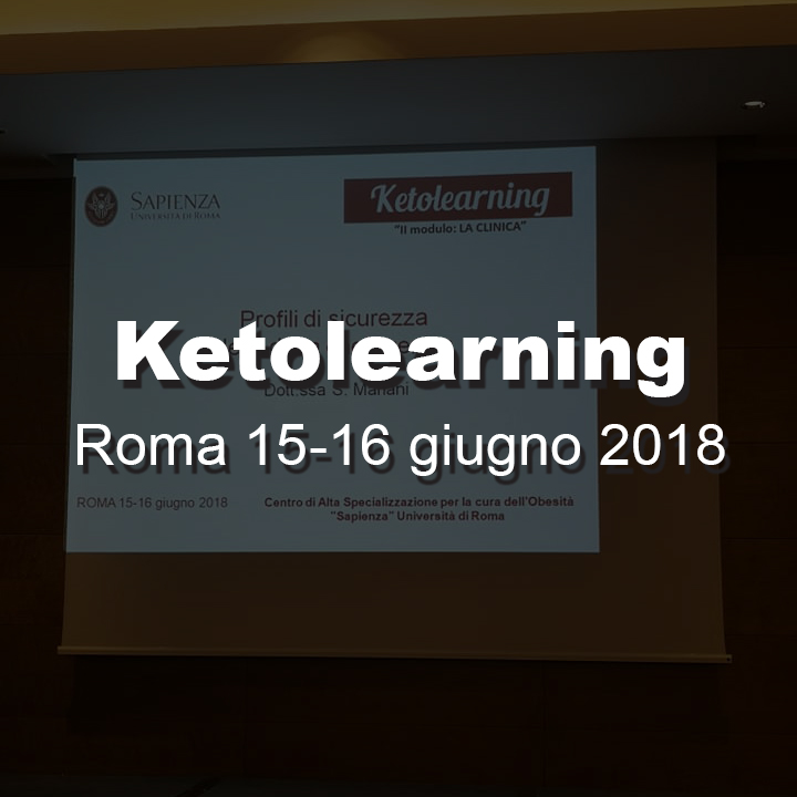 Ketolearning Roma 15-16 giugno 2018