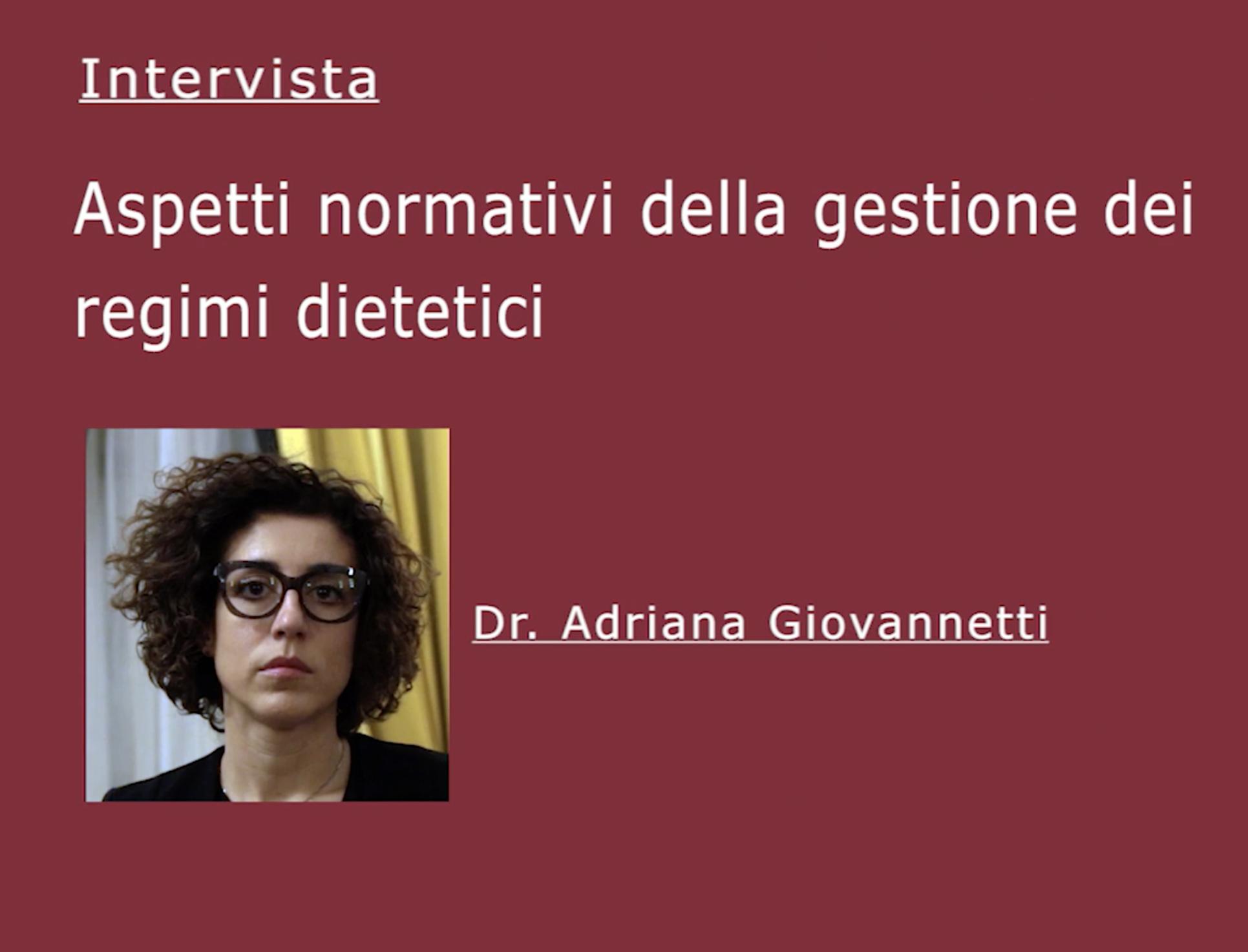 Dr. Adriana Giovannetti1