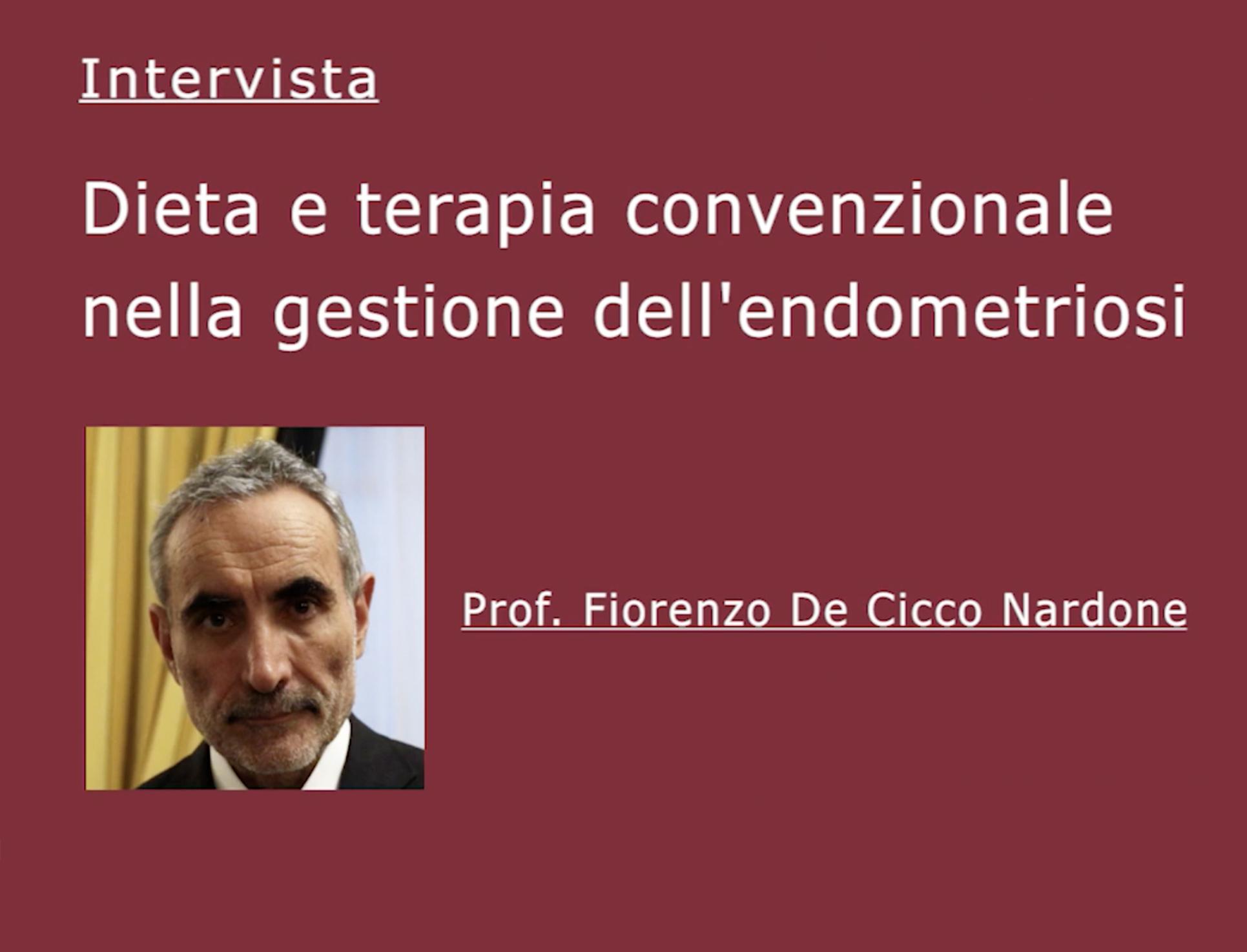 Prof. Fiorenzo De Cicco Nardone1
